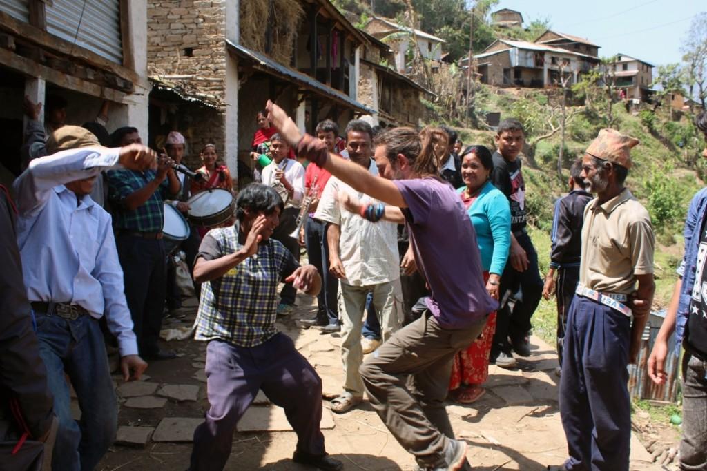 Nepal'de düğün