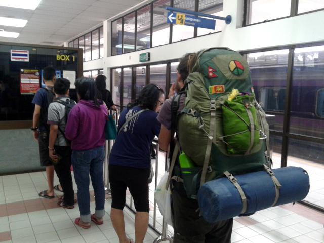 Malezya sınırı