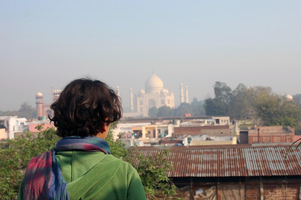 Agra'da günlük manzaramız