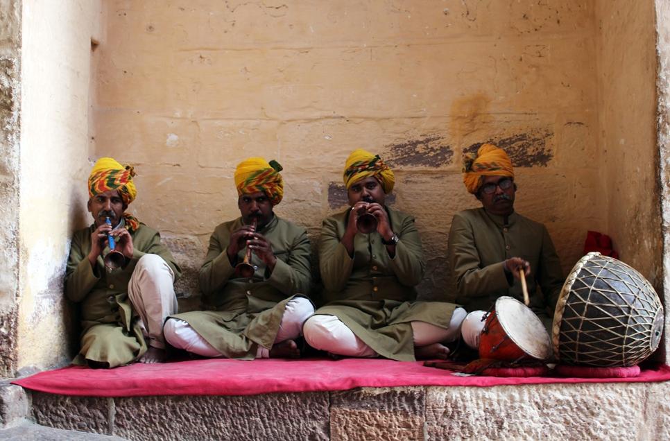 Mehrangarh müzisyenleri