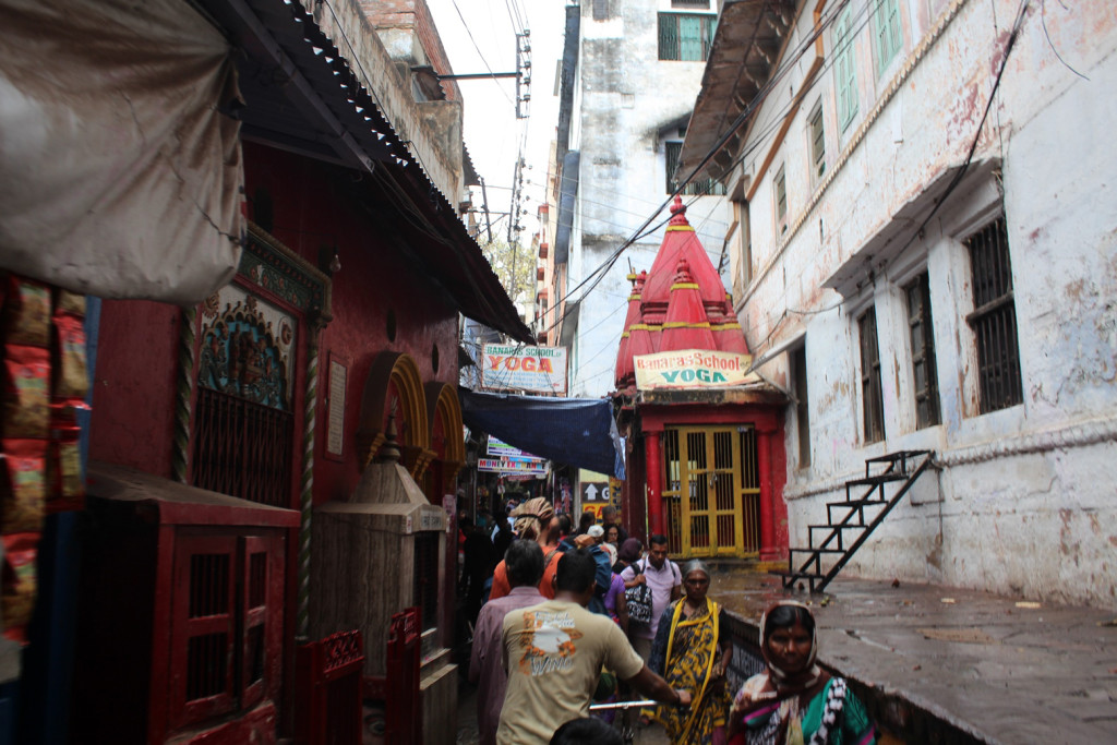 Varanasi'de bir sokak