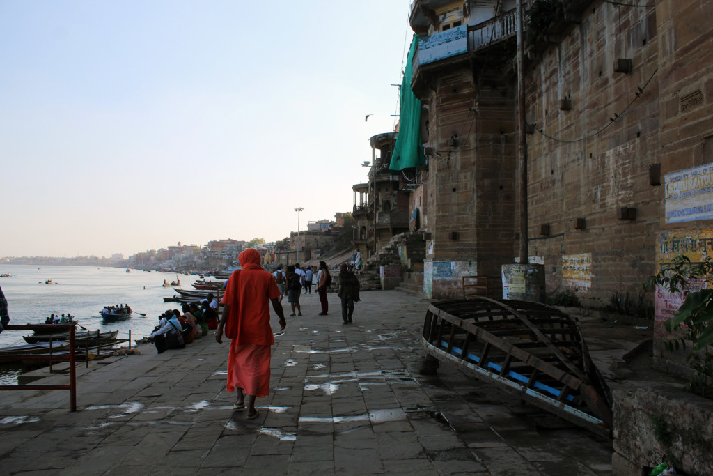 At the shores of Ganges