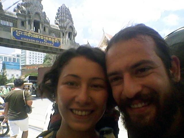 Kamboçya'nın önü