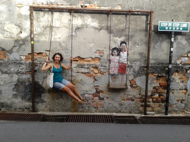 Penang'da sokak sanatı