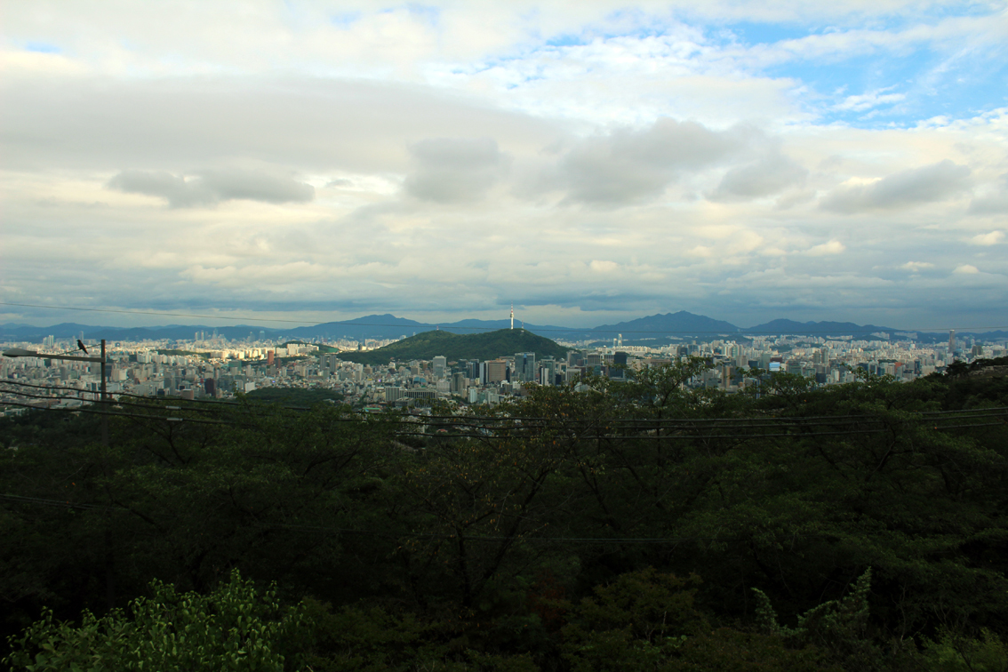 Seoul, surrounded by forests
