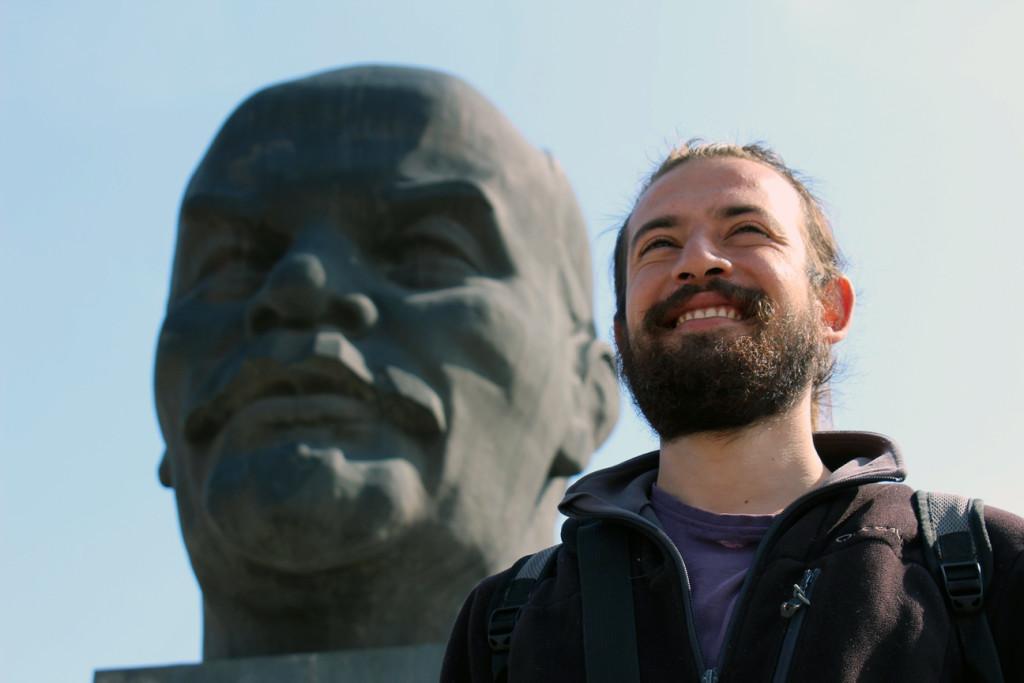 Lenin'le Selfie